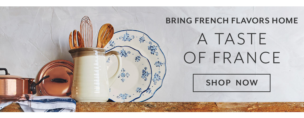 Bring French Flavors home, a taste of France. Shop now.