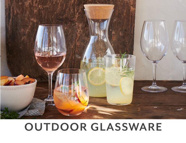 Outdoor Glassware