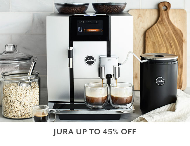 Jura up to 45% off