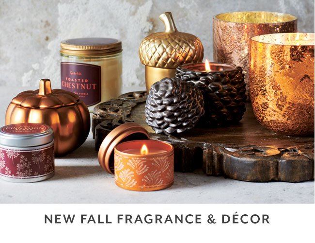 New fall fragrance and decor