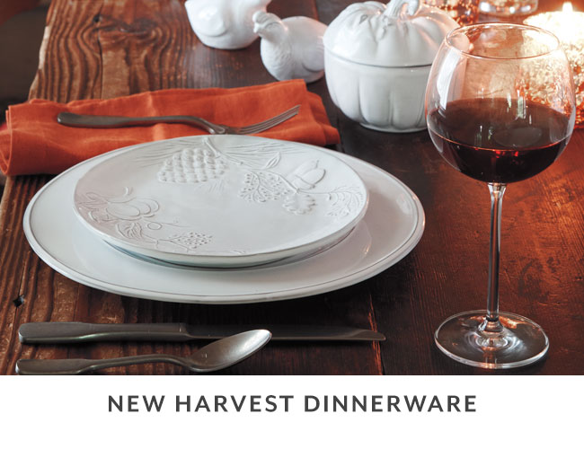 New Harvest Dinnerware