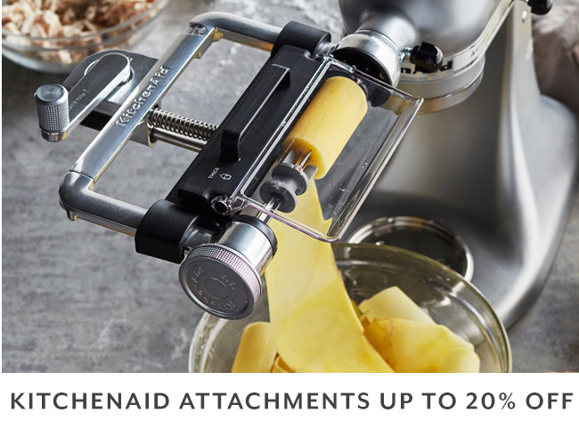 KitchenAid Attachments up to 20% off