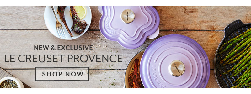 New and exclusive Le Creuset Provence. Shop now.
