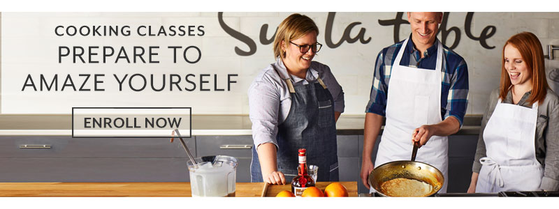 Cooking classes, prepare to amaze yourself. Enroll now.