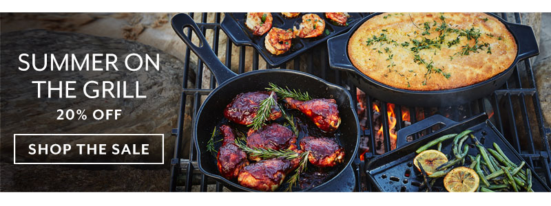 Summer on the Grill 20% off, shop the sale.