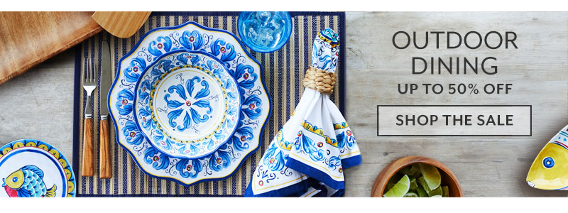 Outdoor Dining up to 50% off. Shop the sale.