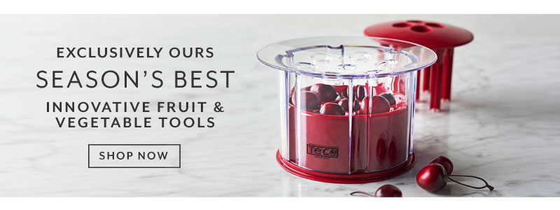 Exclusively ours season's best innovative fruit & vegetable tools. Shop now.