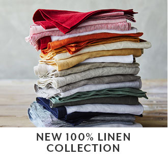 New 100% linen collection