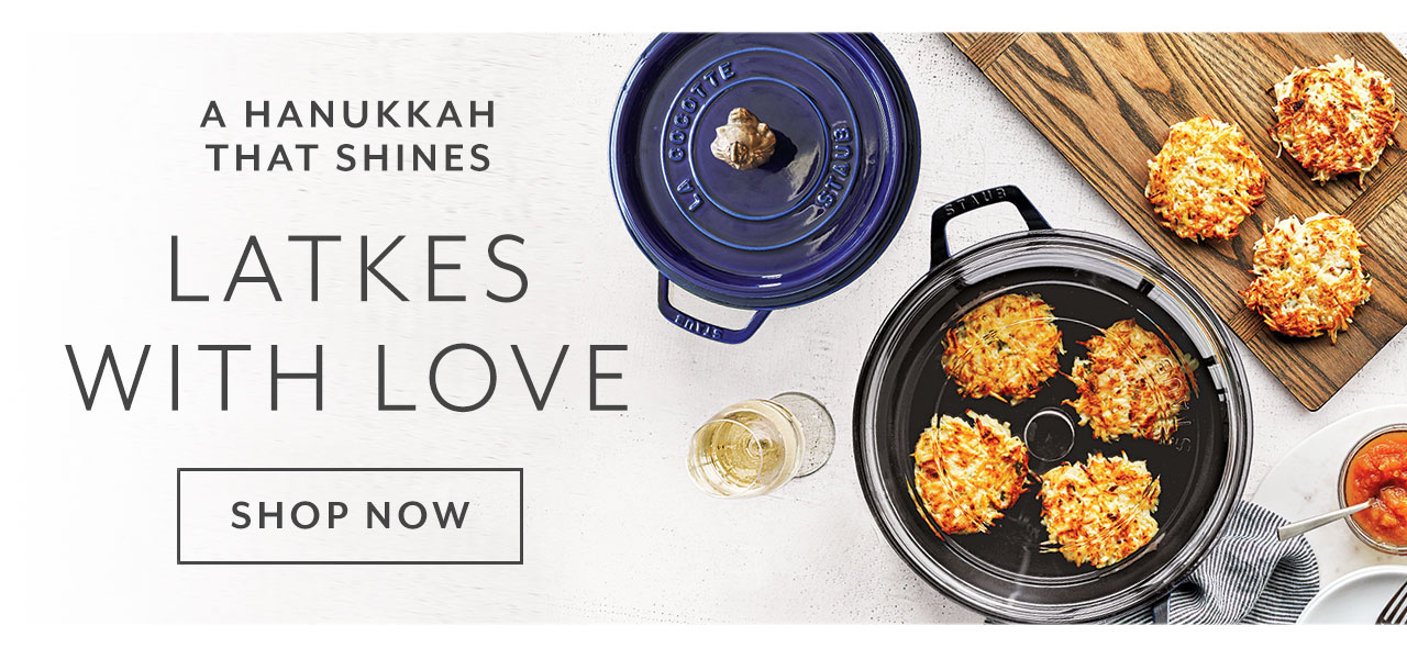 A Hanukkah that shines, latkes with love. Shop now.