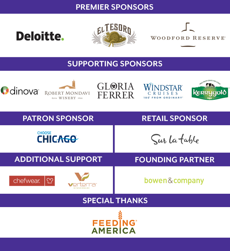 Premier Sponsors and supporting sponsors