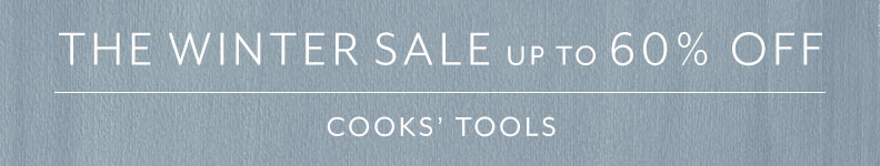 Cooks Tools sale up to 60% off.