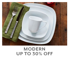 Modern up to 30% off.
