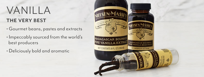Vanilla, The Very Best. Gourmet beans, pastes and extracts. Impeccably sourced from the world's best producers. Deliciously bold and aromatic.