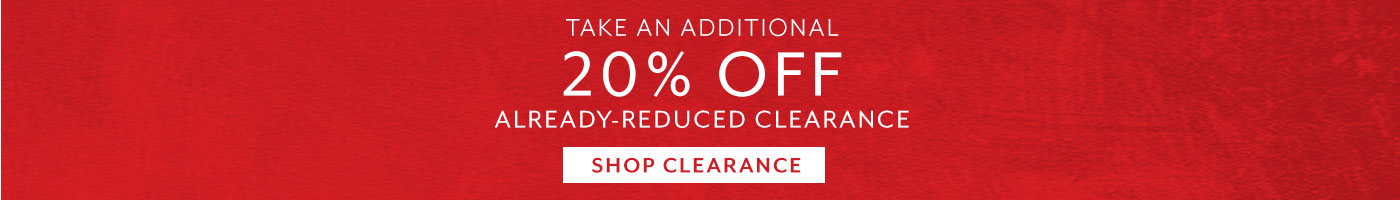 Take an additional 20% off already 