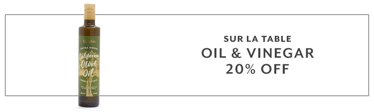 Sur La Table Oil & Vinegar 20% off