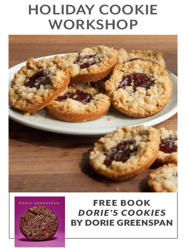HOLIDAY COOKIE WORKSHOP, free book Dorie's 