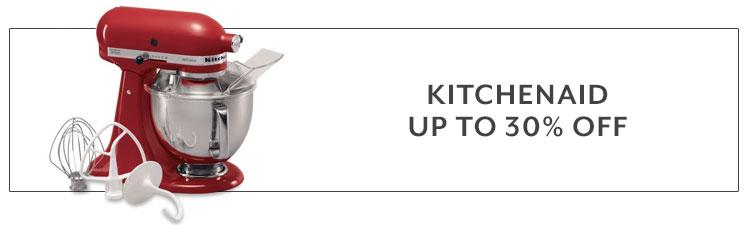 KitchenAid up to 30% off