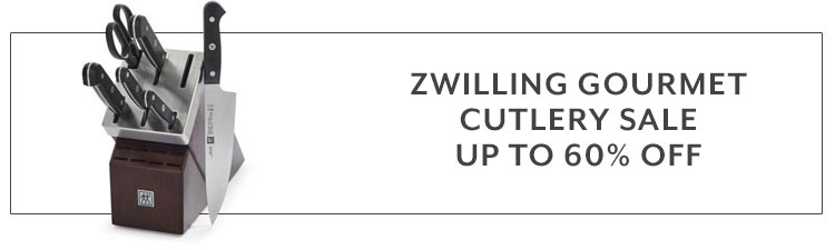 Zwilling Gourmet Cutlery Sale up to 60% off