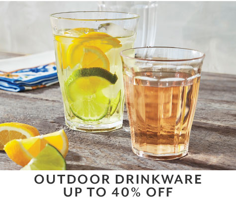 Outdoor drinkware up to 40% off