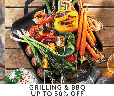 Grilling & BBQ up to 50% off