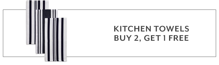 Kitchen Towels buy 2, get 1 free