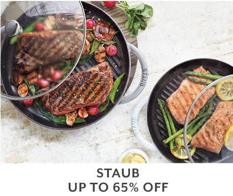 Staub up to 65% off