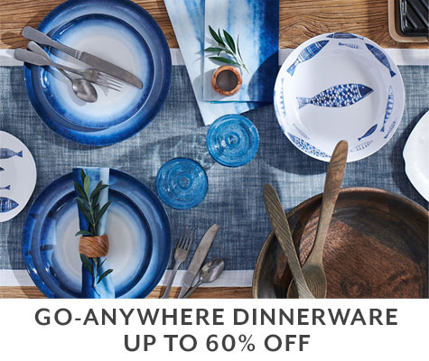 Go anywhere dinnerware UP TO 50% OFF