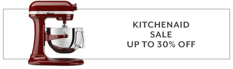 KitchenAid sale up to 30% off