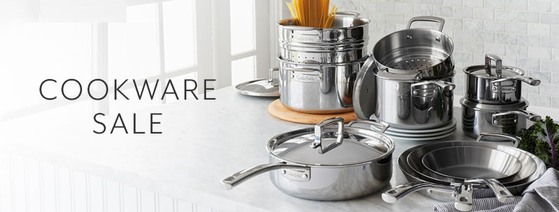 Cookware sale.