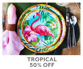 Tropical 50% off.