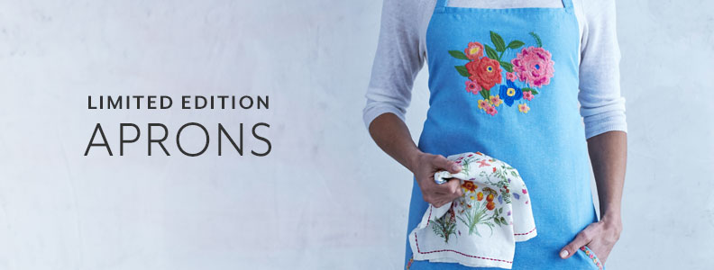 Limited Edition Aprons.