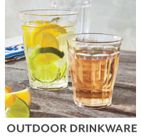 Outdoor glassware.