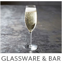 Glassware and Bar.
